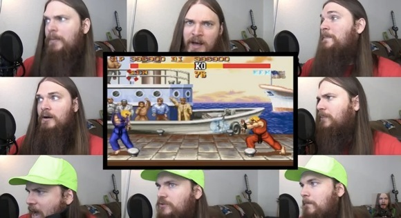 Street Fighter 2 - Kens Theme Acapella_580