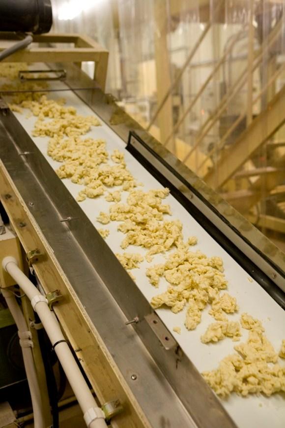 製麺①こねた粉