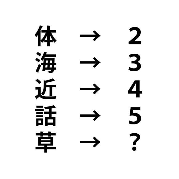 問題 クイズ