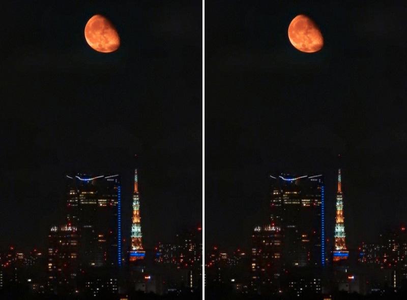 の 月 大きい 今日