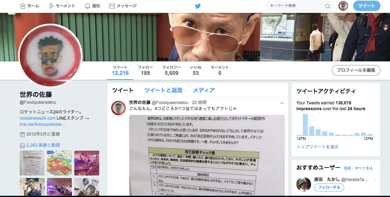 アナリティクス twitter
