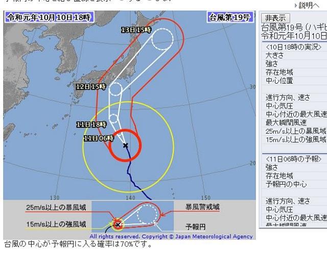 天気 日間 10 関東 予報