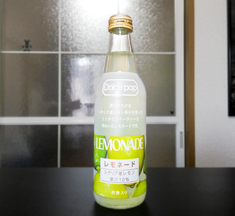 「川崎飲料・DOLCE POP(ドルチェ・ポップ)レモネード」商品写真