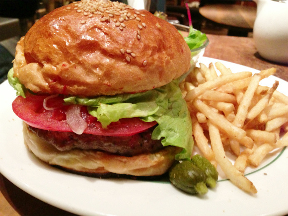Correction: the DELICIOUS burger lunch