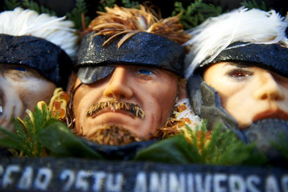 Metal Gear Bento close up