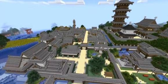 Minecraft Kyoto