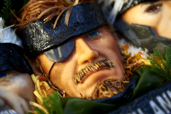 solid snake close up