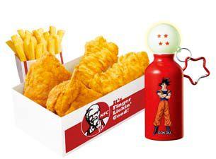 Colonel Sanders KFC Dragon Ball2