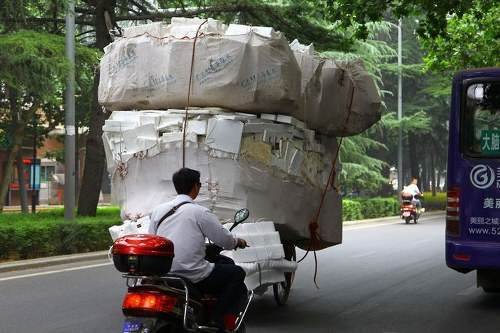 Overloaded Vehicles in China11
