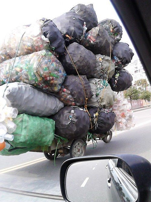 Overloaded Vehicles in China13
