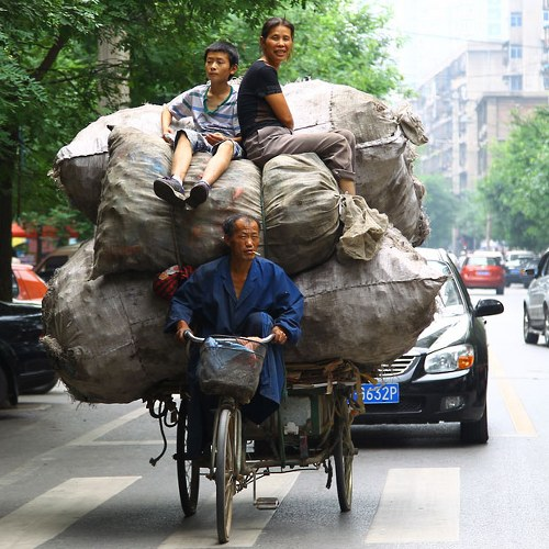 Overloaded Vehicles in China2