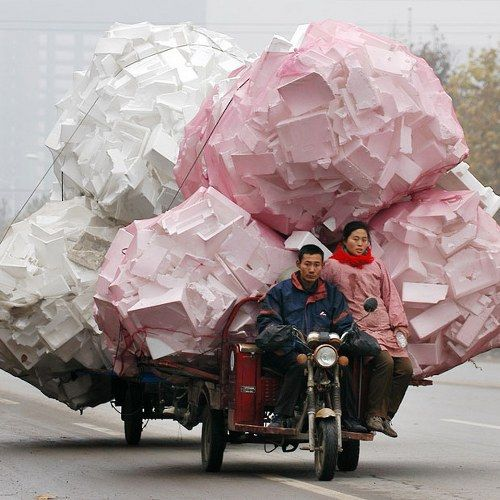 Overloaded Vehicles in China3