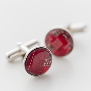 Geek & Cute Accessories Circuit Board Cuff Links 10,500 yen