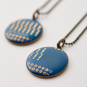 Geek & Cute Accessories Circuit Board Necklace 6,300 yen