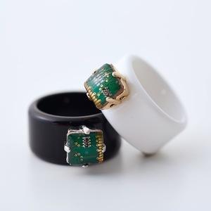 Geek & Cute Accessories Circuit Board Ring 6,300 yen
