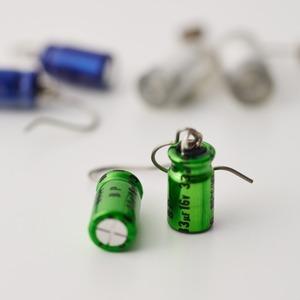 Geek & Cute Accessories Condenser Earrings 945 yen