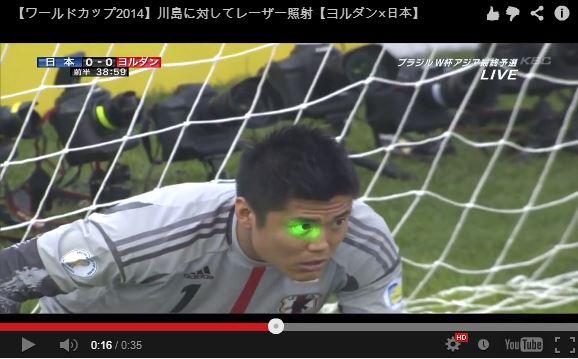 Laser incident title