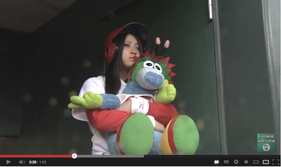 Youtube Stuffed Animals, Home Run Girl Video A Hit On Youtube Scores Of Guys Wish They Were Stuffed Animals Soranews24 Japan News