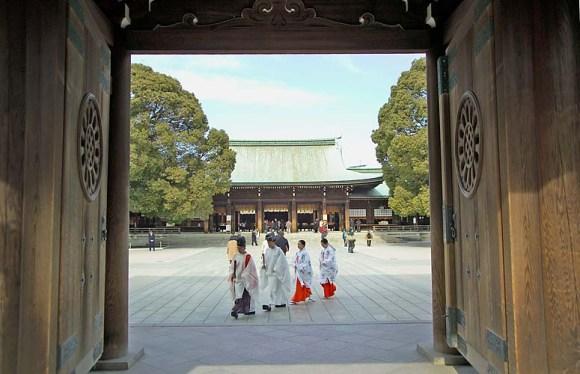 24. Meiji Shrine