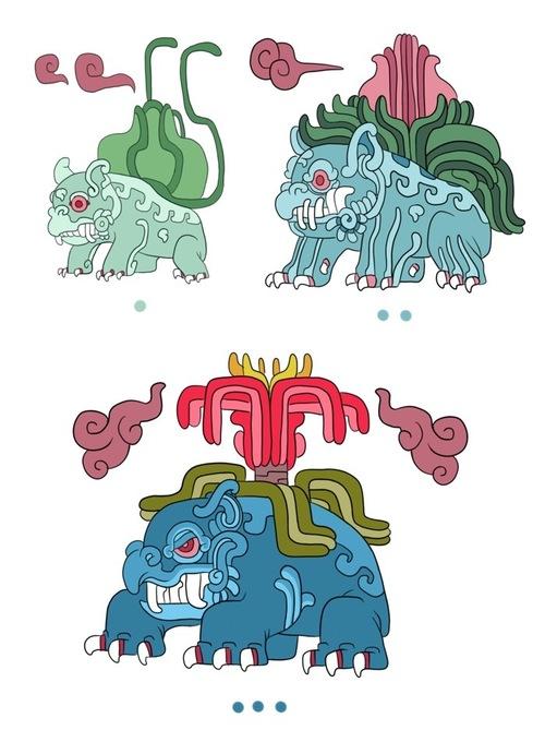 Mayan-style Pokémon
