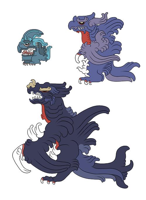 Mayan-style Pokémon4