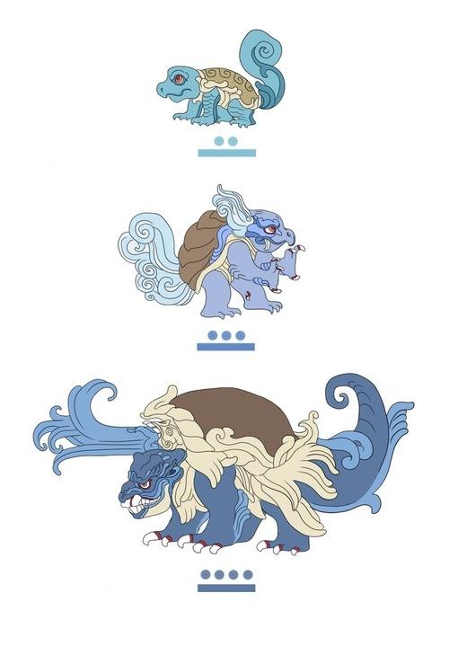 Mayan-style Pokémon7