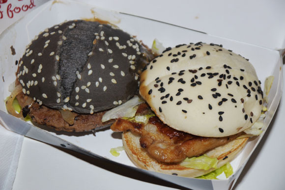 Stunning Black and White Fortress burgers2