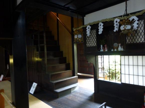 sumiya stairs and kamidana