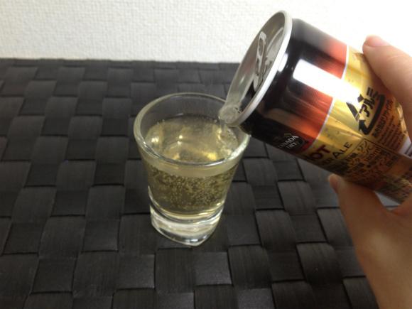 2013.10.28 CocaCola Ginger Ale pour