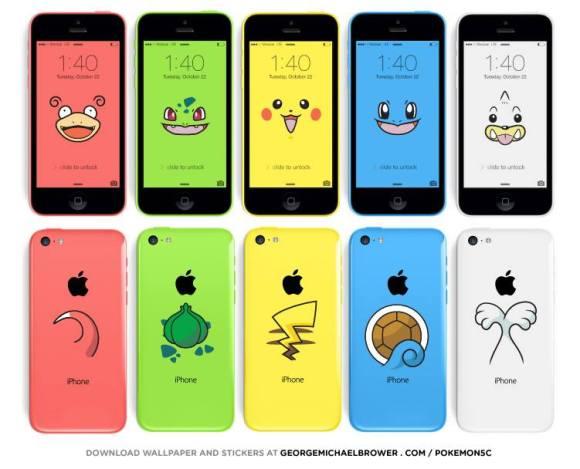iPhone 5c Pokemon