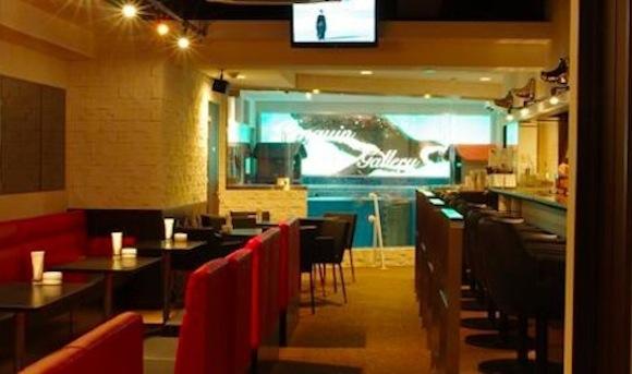 Penguin Bar inside
