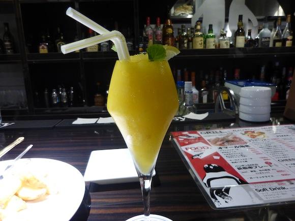 Penguin Bar mango daiquiri