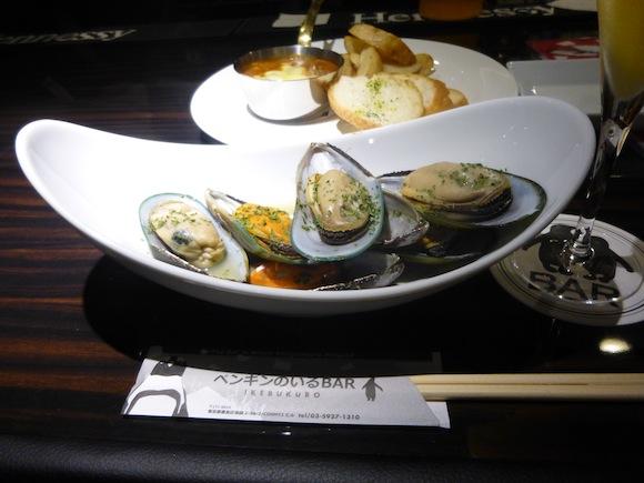 Penguin Bar mussels 1