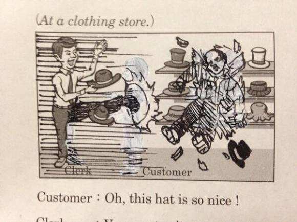 textbook doodles from Japan16