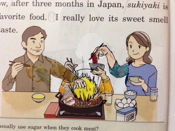 textbook doodles from Japan4
