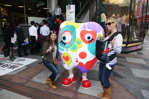 Weird mascot is a hit with Japanese women4