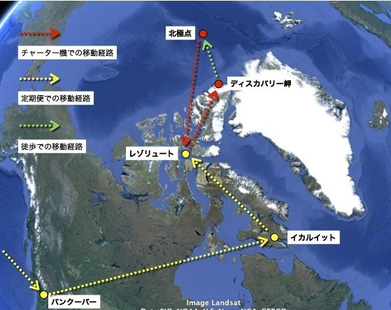 2013.12.15 north pole map