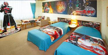 2013.12.16 Japan travel hotel kamen rider