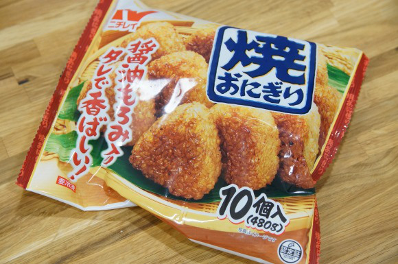 2013.12.8 frozen food onigiri