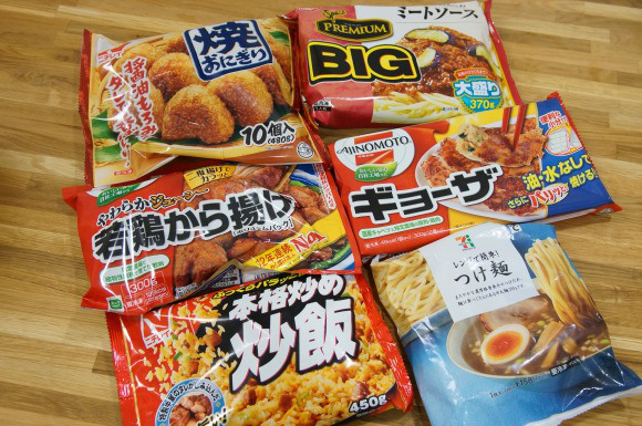 2013.12.8 frozen food