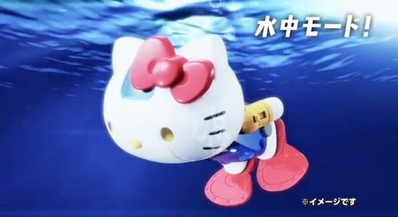 Kitty Video 13 Real underwater mode