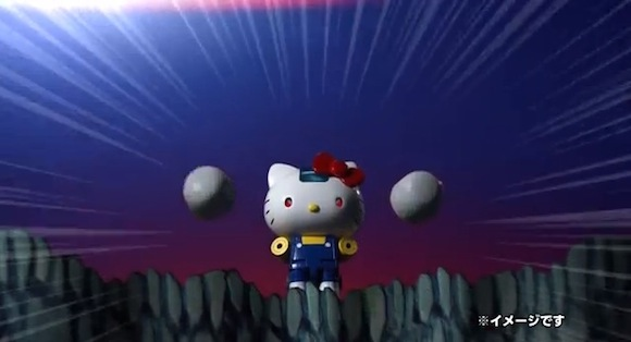 Kitty Video 14 Real rocket hands