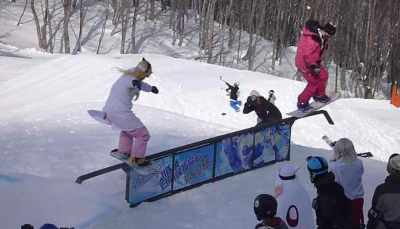 nerdy snowboarding