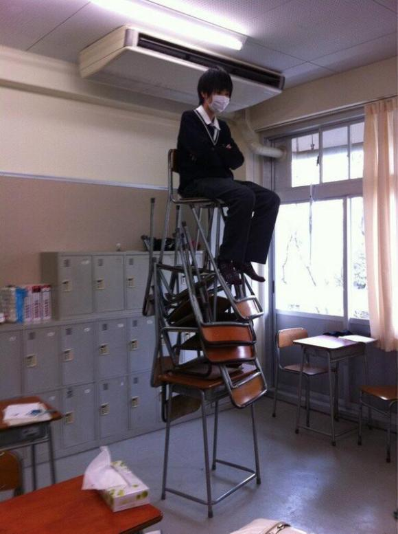 15 Japanese students who are really nailing this high school thing7