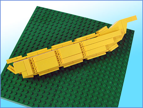 Banana Lego