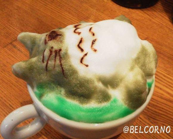 Belcorno 3D latte art