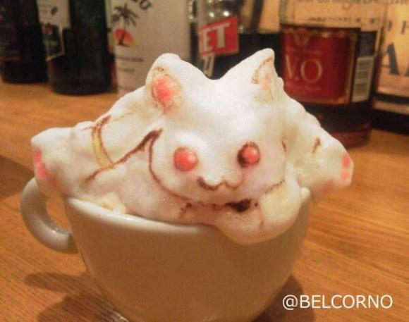 Belcorno 3D latte art4