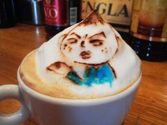 Belcorno 3D latte art5
