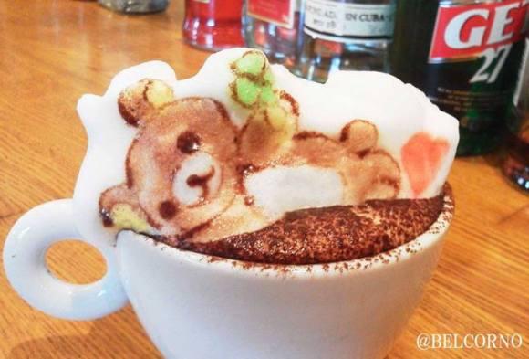 Belcorno 3D latte art8