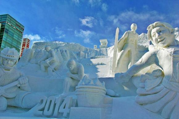 Sapporo Snow Festival15
